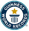 Guinness record for largest logo done with 3,937 t-shirts