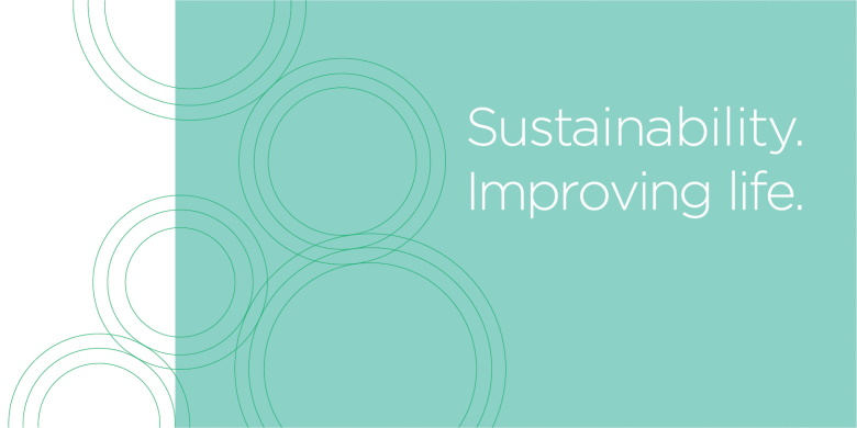 Sustainability. Improving life.